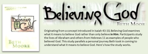 Believing God Banner